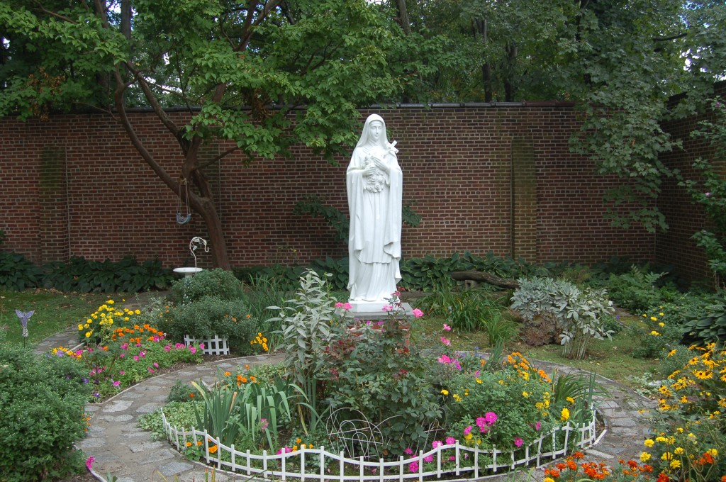 Statue of St. Therese in Convent Garden