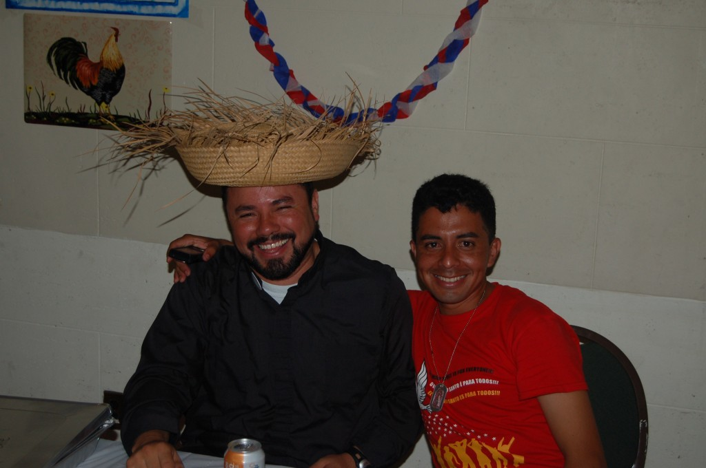 Fr. Gabino (love the Sombrero!)