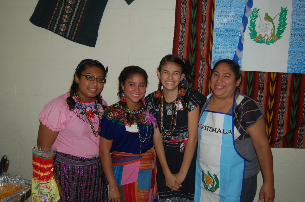 Girls from Guatamala