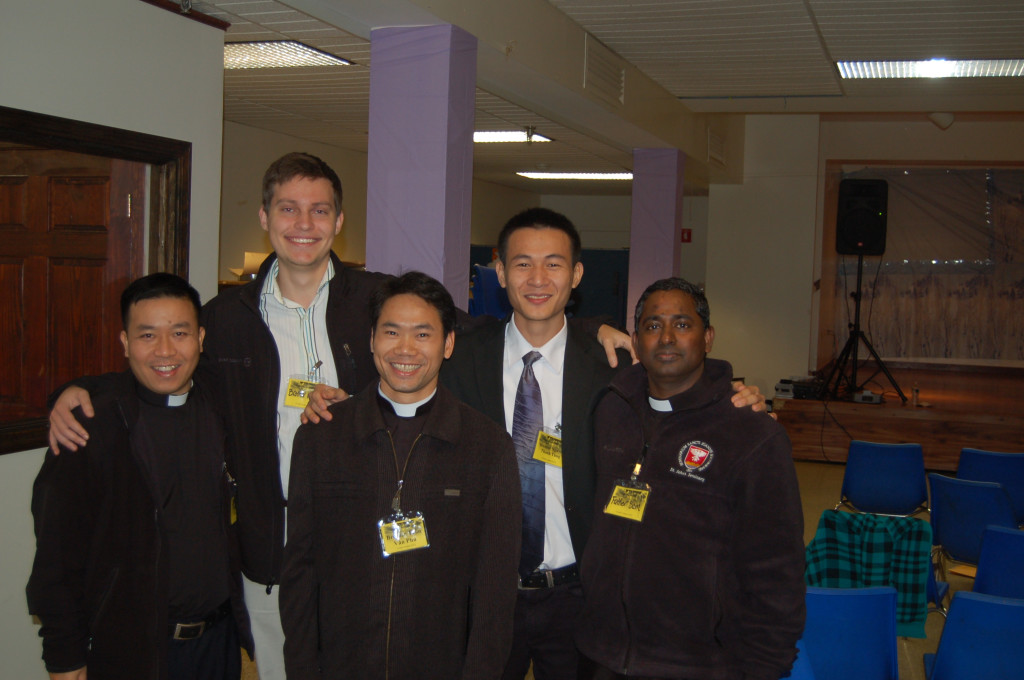 Seminarians present for the day