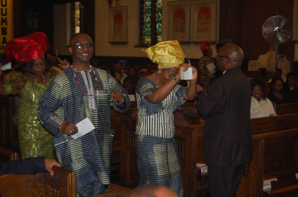 Dancing before the Altar of the Lord
