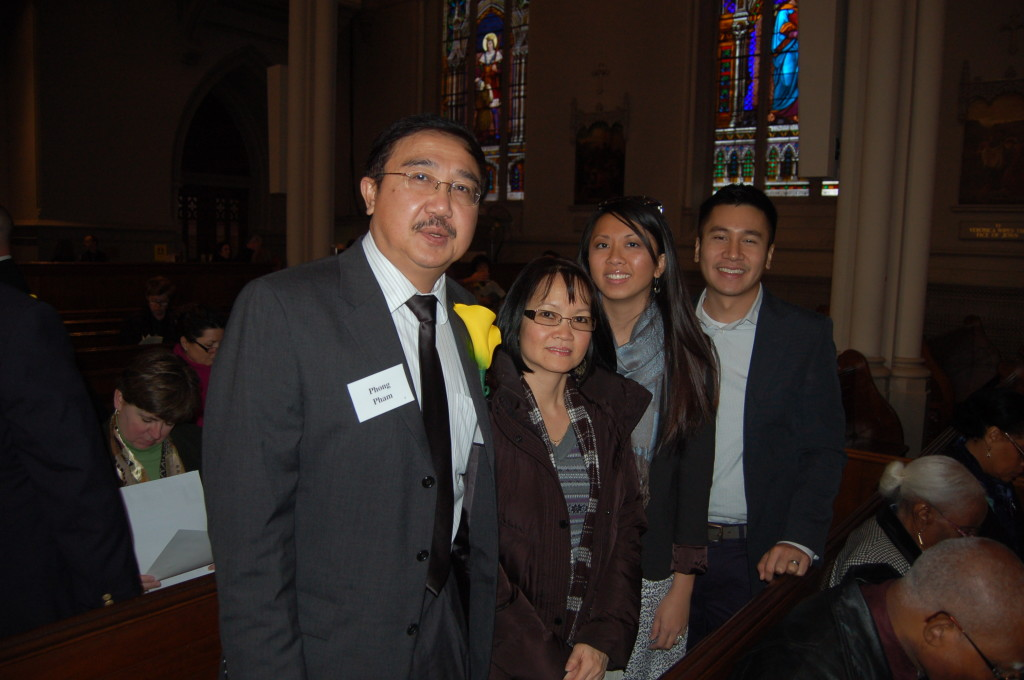 Phong Pham and his family