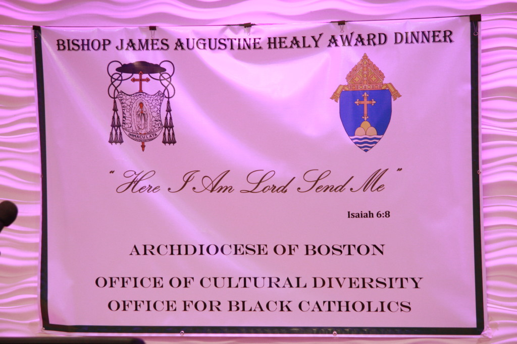 The Theme of the 2013 Healy Award Dinner presented by the Office of Black Catholics and Office of Outreach and Cultural Diversity