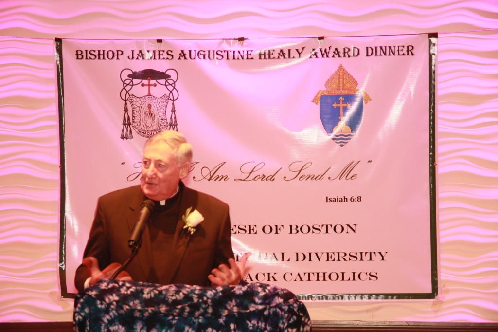 Fr. Bill Joy, recipient of the Robert L. Ruffin Award