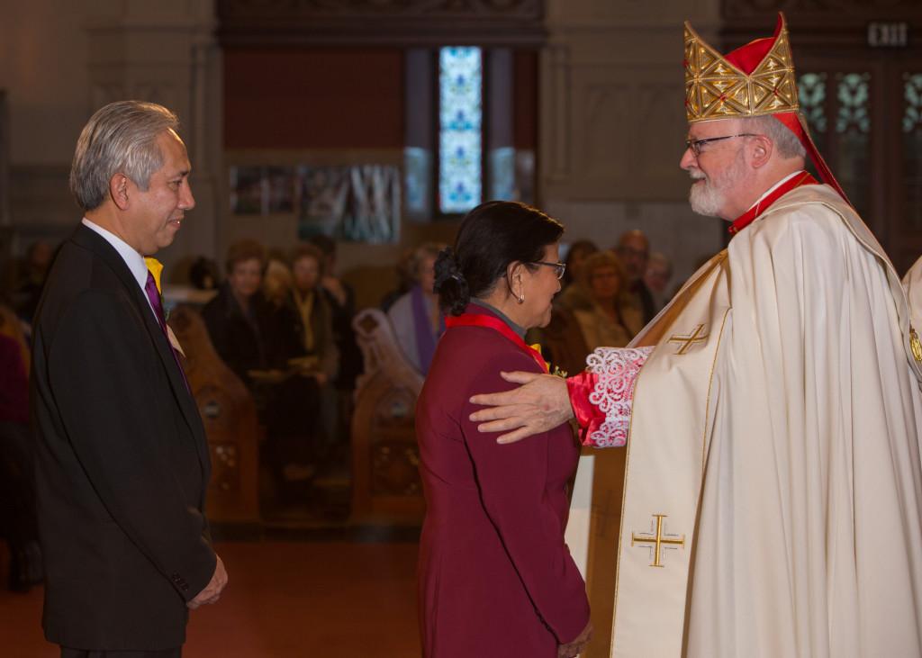 Mr, Anthony Jr. and Gracita Chiefe, St. Mary Parish in Randolph, Filipino Apostolate