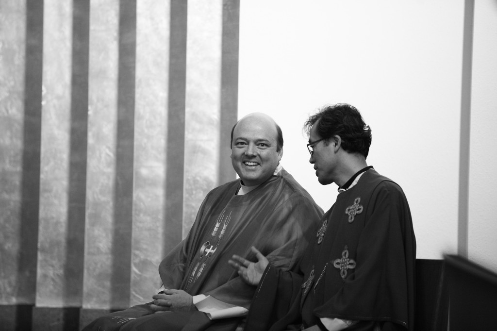 Fr. Michael Harrington and Fr. Dominic Jung