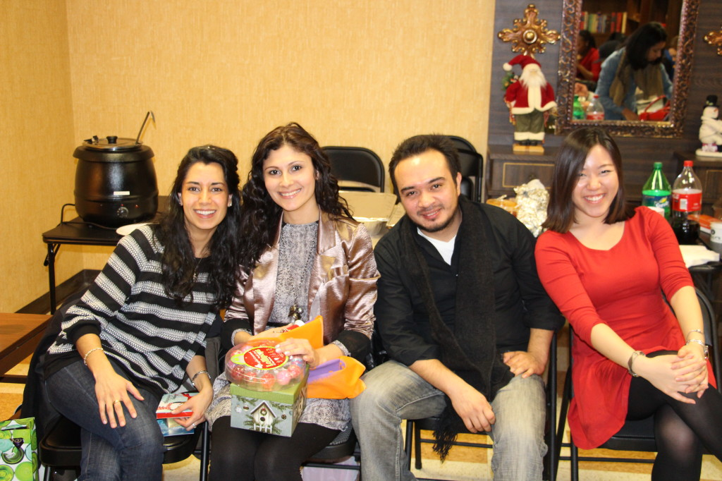 Maria, Leiri, Gustavo, Lizzie