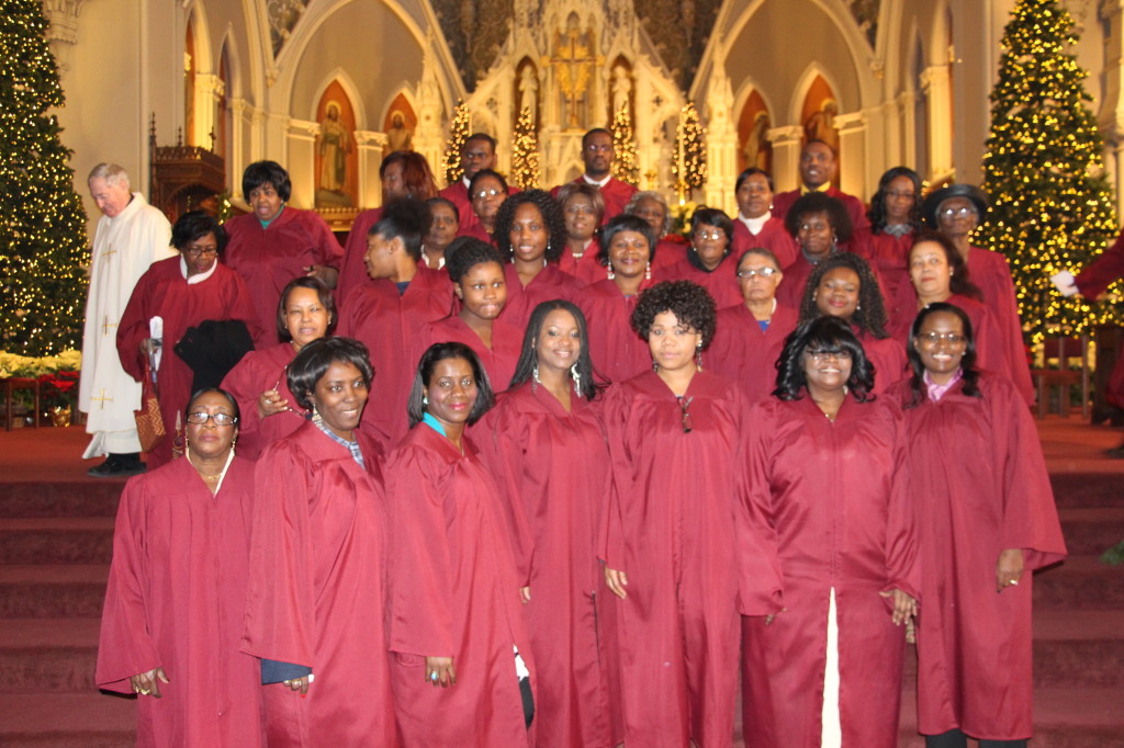 Haitian Choir from St. Matthew Parish in Dorchester